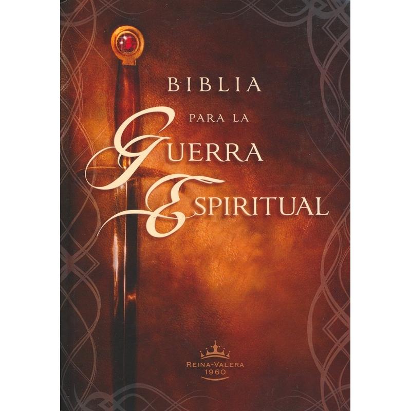 Biblia Para la Guerra Espiritual RVR1960 - Tapa Dura