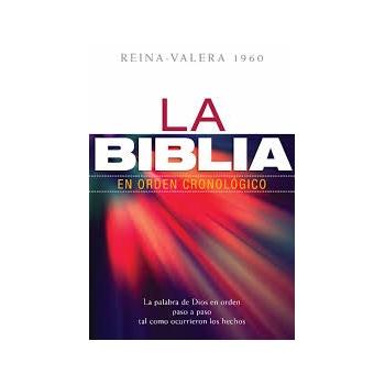 La Biblia en orden cronológico, tapa dura RVR1960
