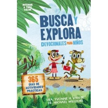 Busca y explora devocional para niños 6 a 10 años