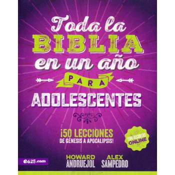 Toda la Biblia en un Año para Adolescentes