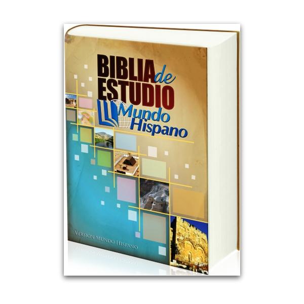 Biblia de Estudio Mundo Hispano Tapa Dura