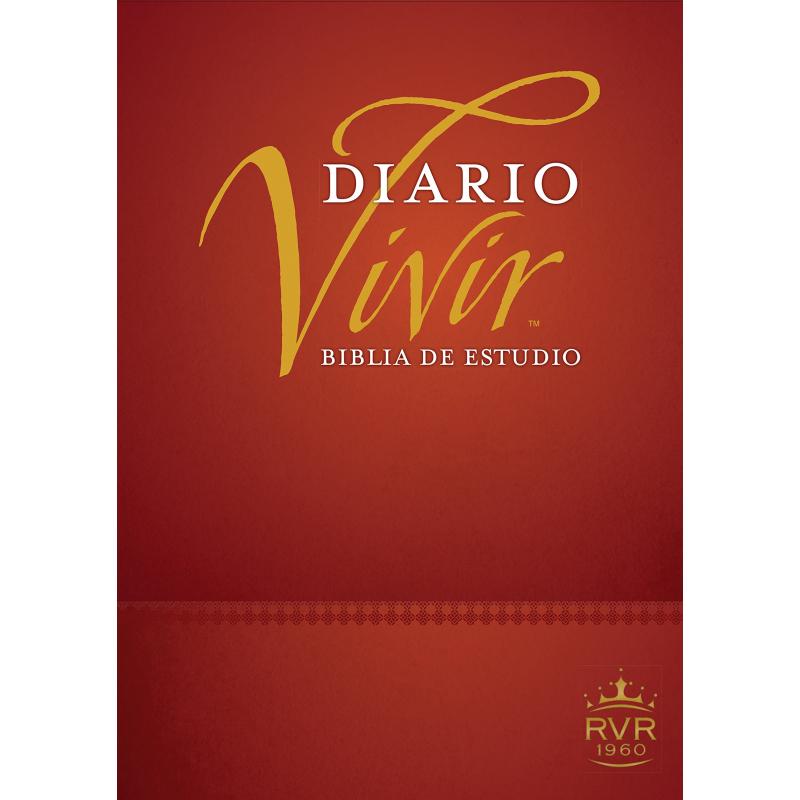 Biblia de estudio Diario Vivir RVR60 Tapa Dura