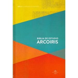 Biblia de Estudio Arco Iris Tapa Dura