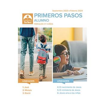 Primeros Pasos - Alumno (3-4 Años) Mar-Ago