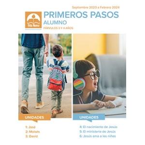 Primeros Pasos - Alumno (3-4 Años) Mar - Ago 2021