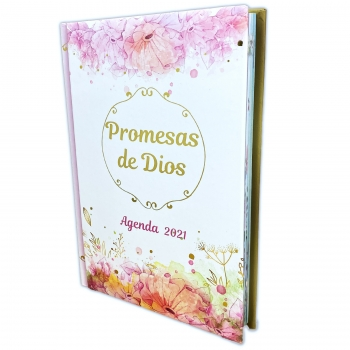 Agenda inspiracion promesas de Dios 2021