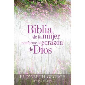 Biblia RVR60 Mujer Conforme al Corazon de Dios Tapa Dura