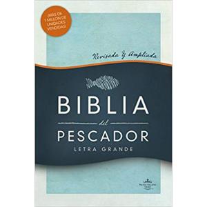 Biblia del Pescador Letra Grande Tapa Dura RVR 1960