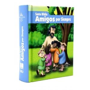 Biblia Amigos Por Siempre RVR1960 (Azul o Rosa)