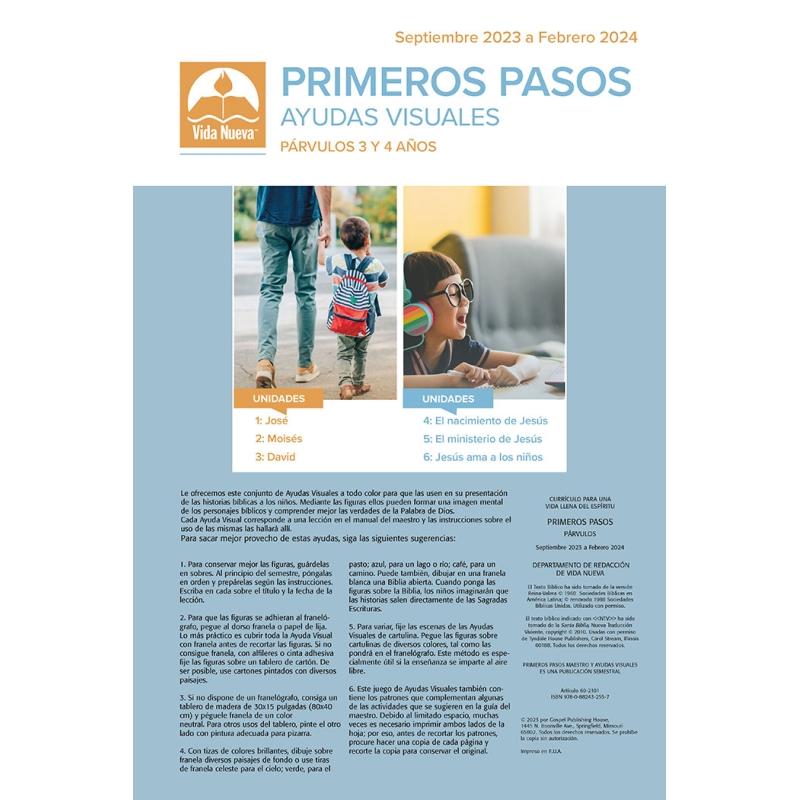 Primeros Pasos - Maestro (3-4 Años)  Mar-Ago