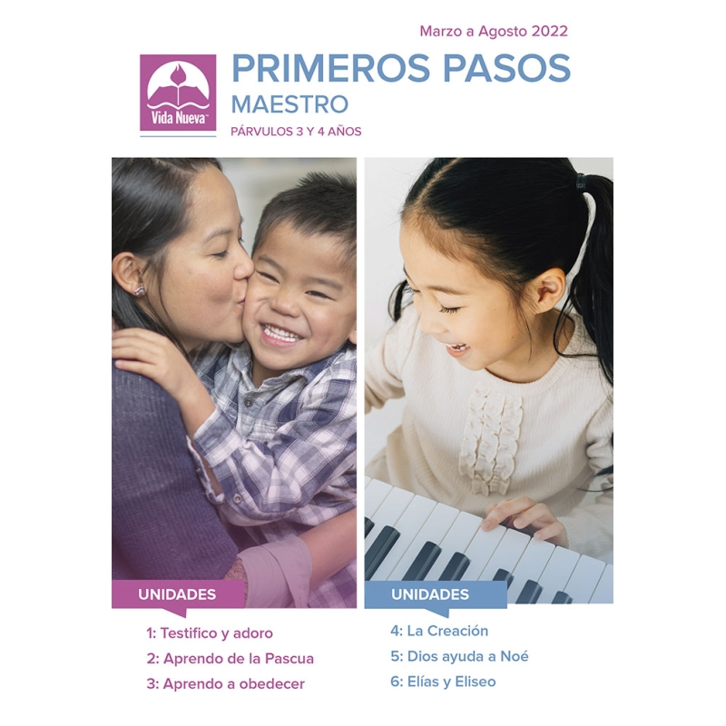 Primeros Pasos - Maestro y Ayudas V. (3-4 Años)  + 3 Alumnos