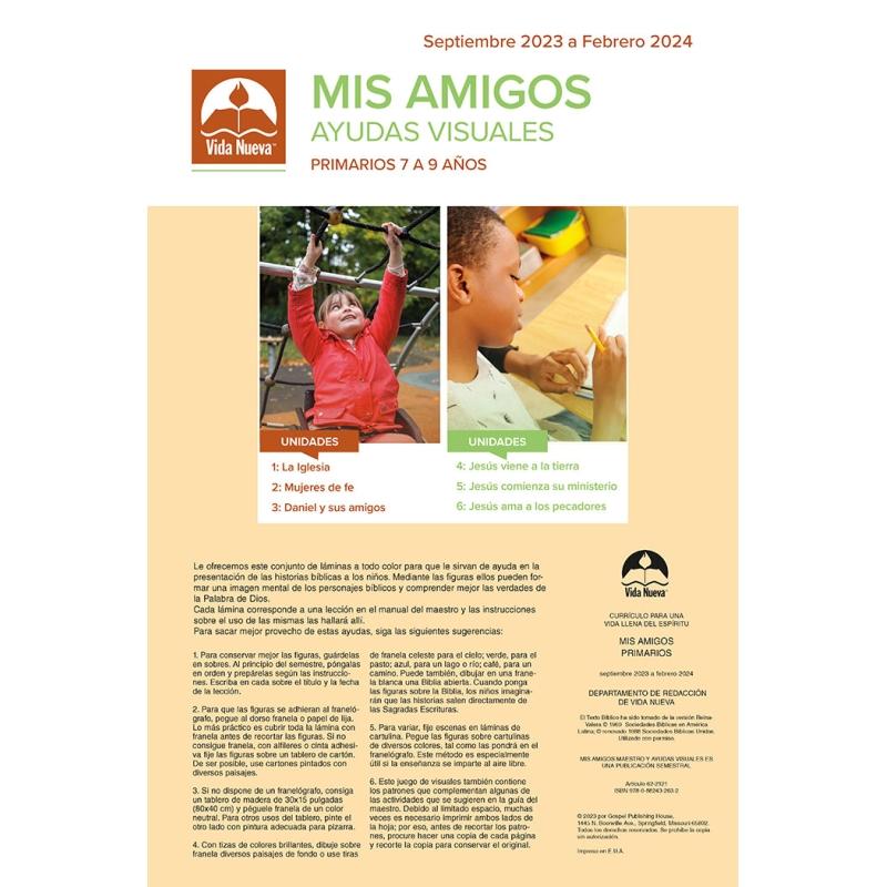 Mis amigos - Maestro (7 a 9 años) Mar-Ago 2019