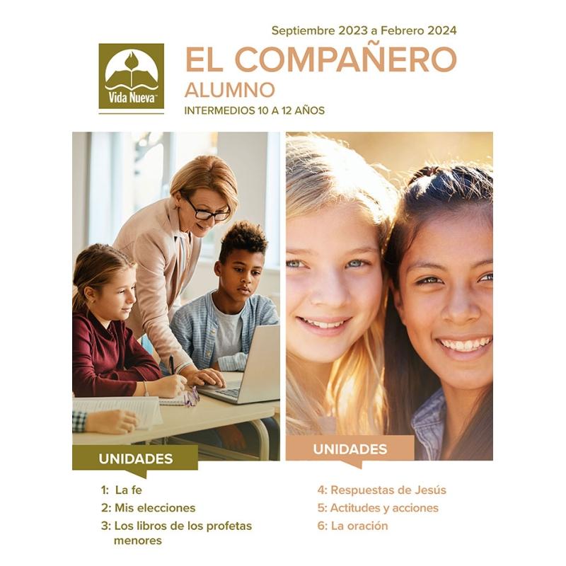 El Compañero Alumno  (10 a 12 años)  Mar a Ago 2021
