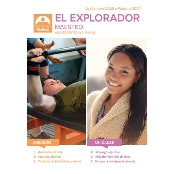 El Explorador - Maestro (13 a 16 años) Mar - Ago