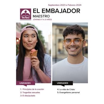 El Embajador - Maestro (17 a 21 años) Mar - Ago