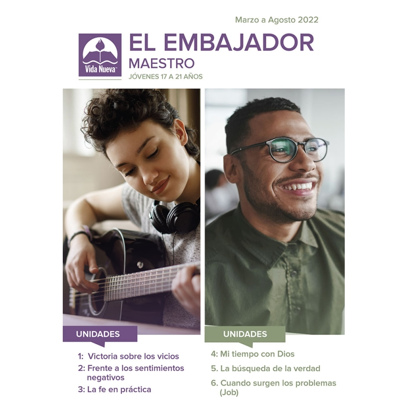 El Embajador Maestro (17 a 21 años) + 3 Alumnos