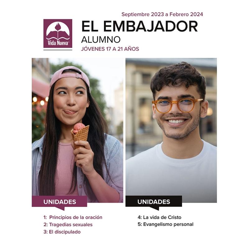 El Embajador- Alumno  (17 a 21 años) Mar - Ago