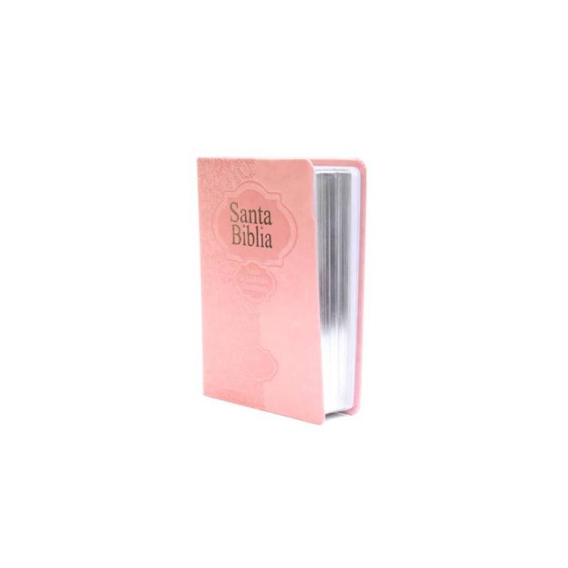 Biblia RVR60 Chica Rosa Fuente de Bendiciones