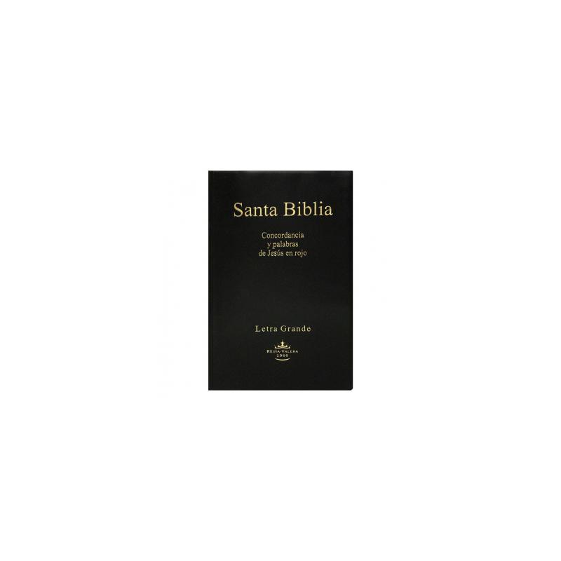 Biblia  RVR60 Mediana Vinil Letra Grande  Concor PJR RVR062CLG