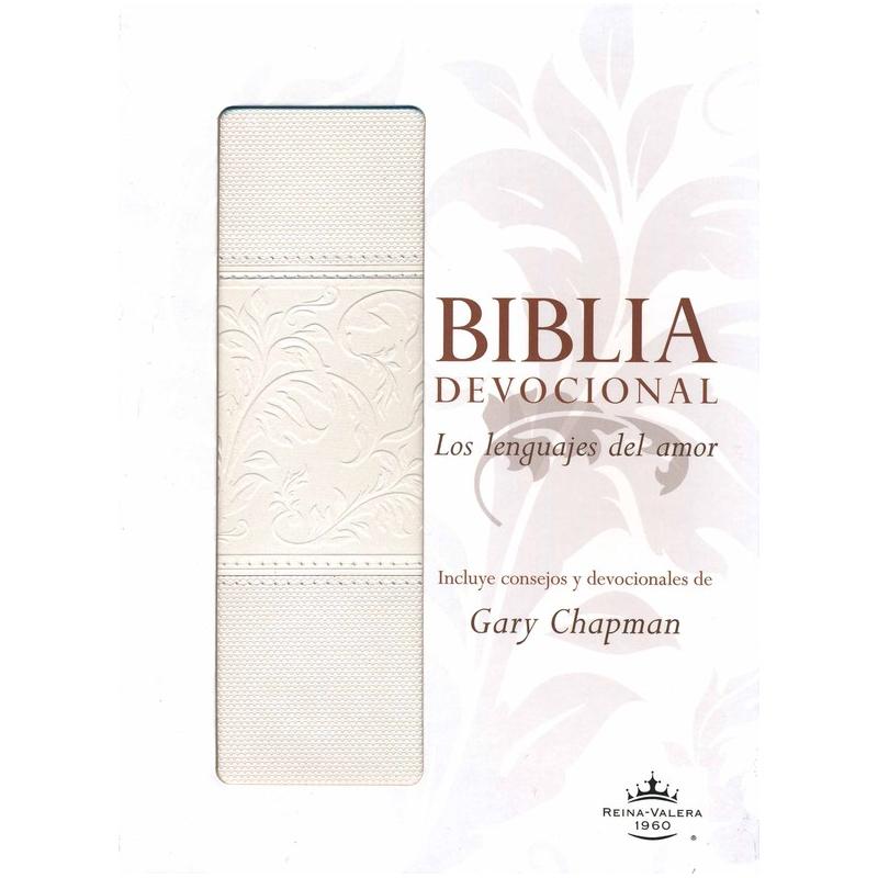 Biblia devocional los Lenguajes del Amor RVR60 - Duotono Blanco