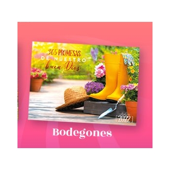 Calendario Guía Devocional Bodegones 2018