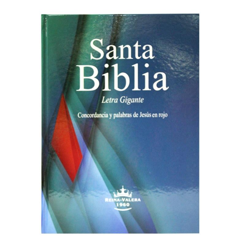 Biblia Letra Gigante Canto Blanco Tapa Dura