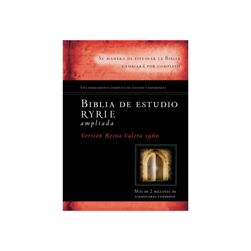 Biblia de estudio Ryrie ampliada RVR60 - Tapa Dura