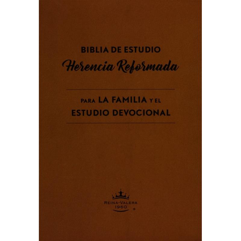 Biblia de Estudio Herencia Reformada RVR 1960, Enc. Dura