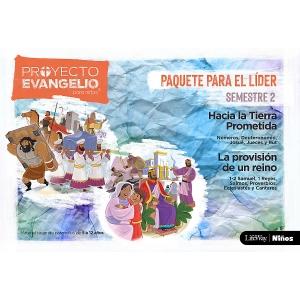 El Proyecto Evangelio para niños Semestre 2 - Paquete para el Líder