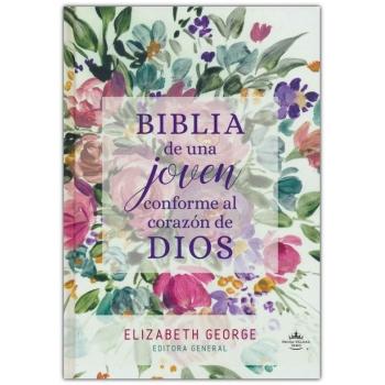 Biblia de una Joven conforme al corazón de Dios RVR 1960, Tapa dura