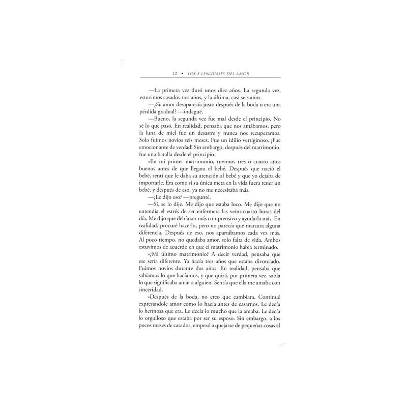 Los Cinco Lenguajes del Amor, Edición de Bolsillo