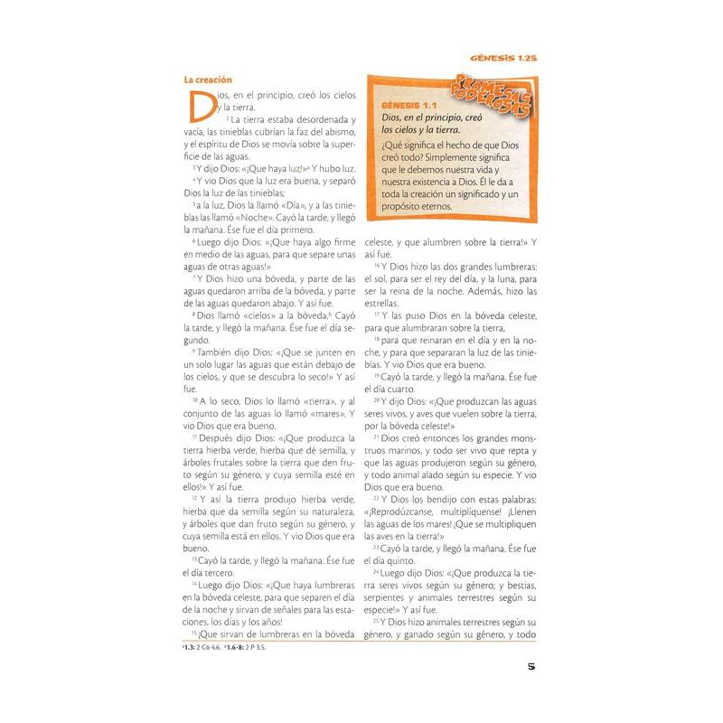 Biblia de Poder para Niños RVC Tapa Dura