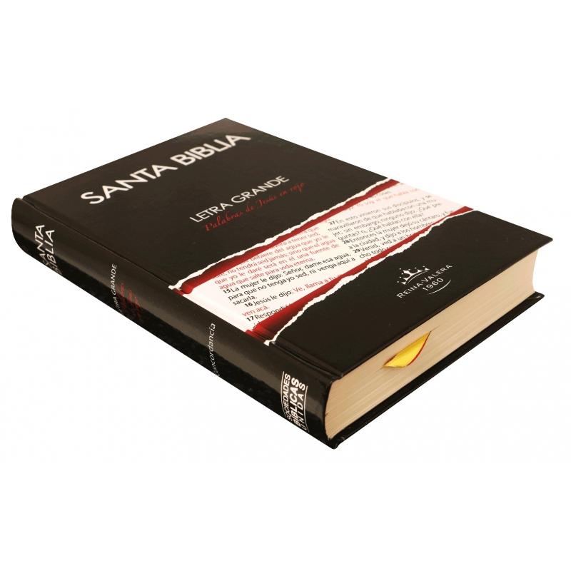 Biblia RVR1960 Mediana Tapa Dura Letra Grande Concordancia PJR
