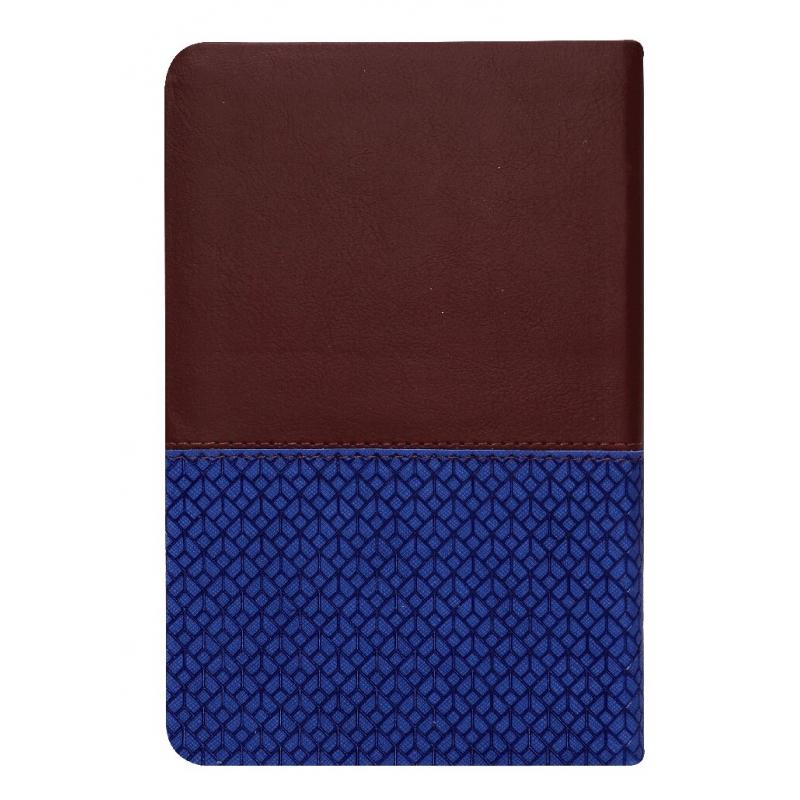 Biblia de Estudio Llamados a la Reconciliación RV1960, imit. piel, Azul Vino Tinto con índice