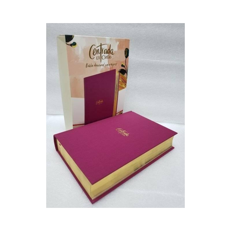 Biblia dev. para mujeres RVR 1960 centrada en Cristo, tapa dura