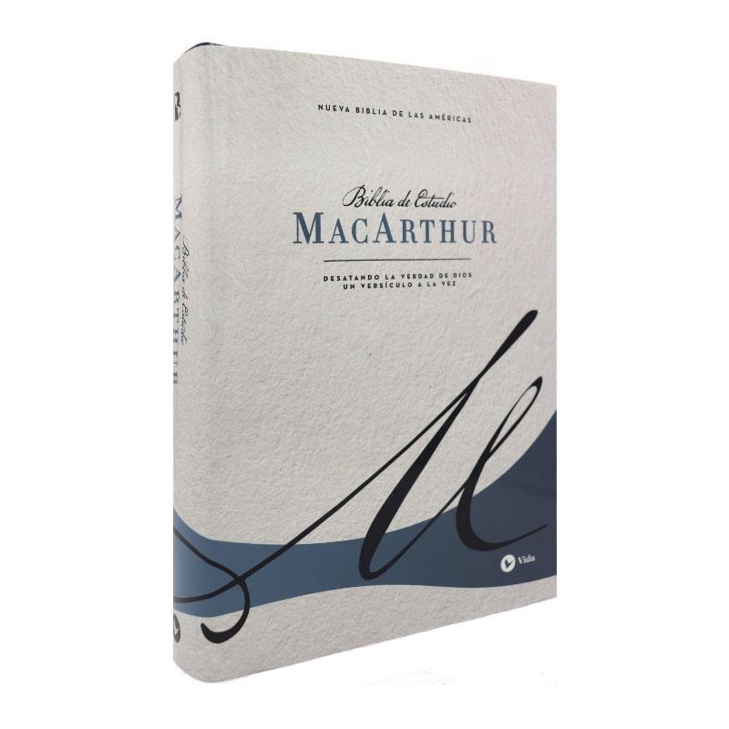Biblia de estudio MacArthur NBLA – Tapa dura – Azul