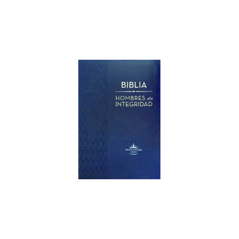 Biblia Hombres de Integridad Piel RVR60