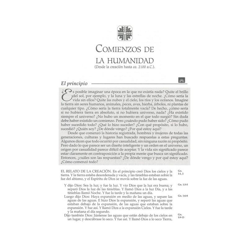 Biblia RVR60 en Orden Cronologico Tapa Dura