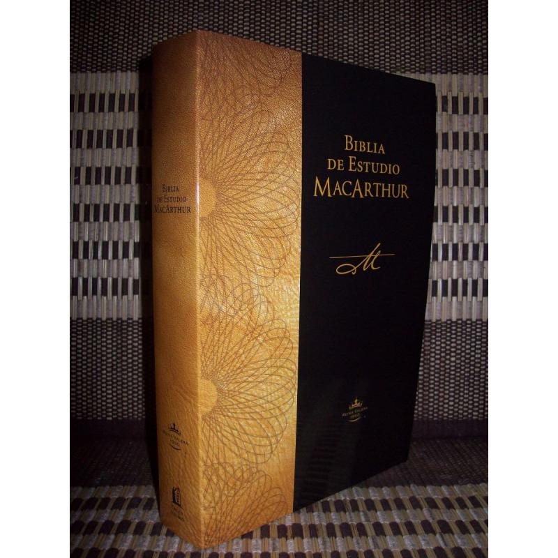Biblia De Estudio Macarthur Rustica