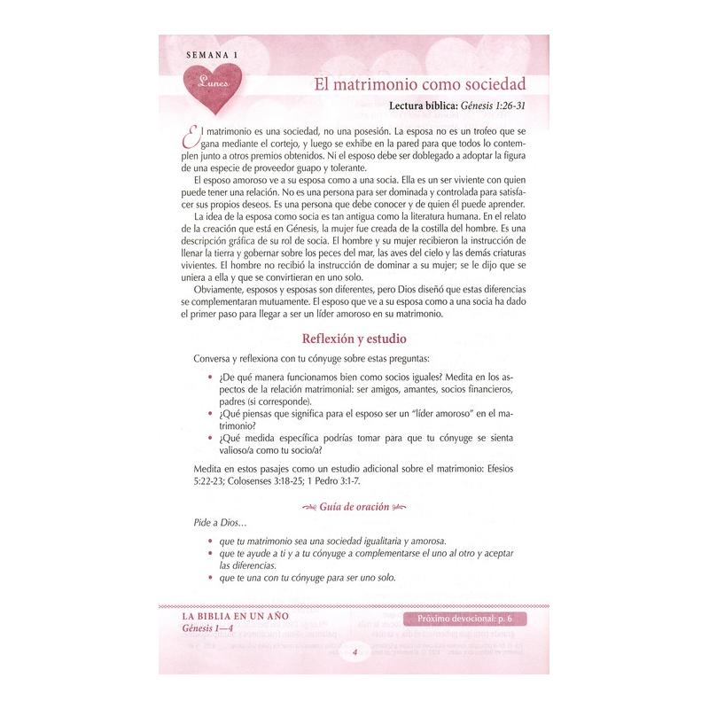 Biblia Devocional: Los lenguajes del amor NTV - Tapa Dura