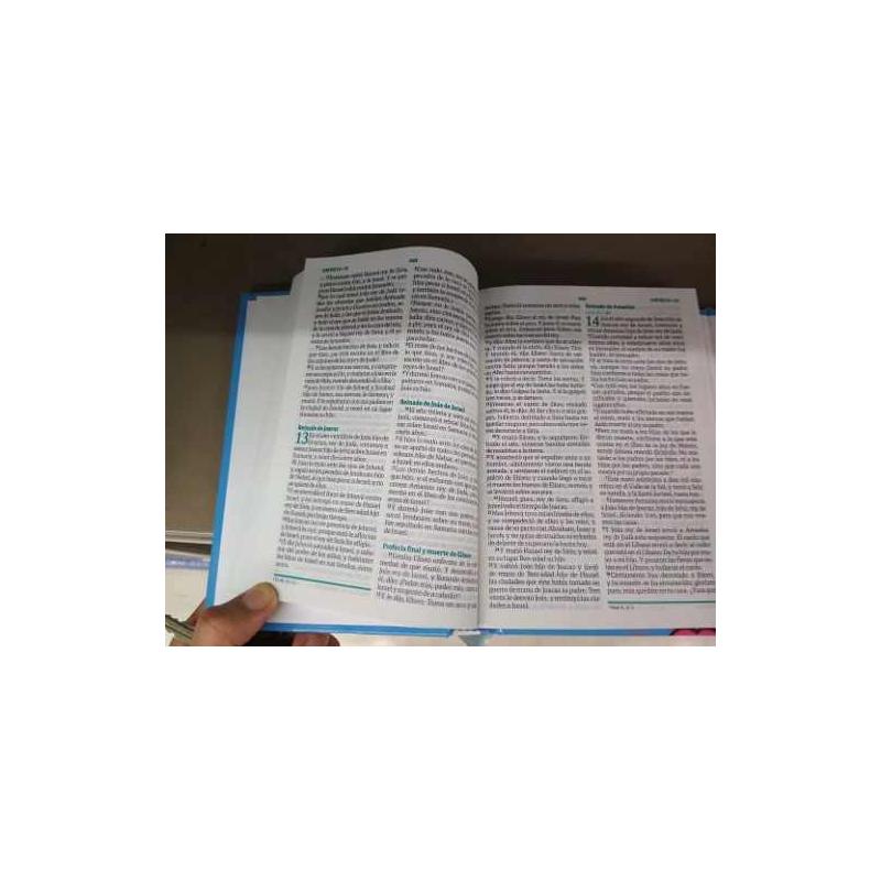 Biblia Fuente de Bendiciones Chica Tapa Dura