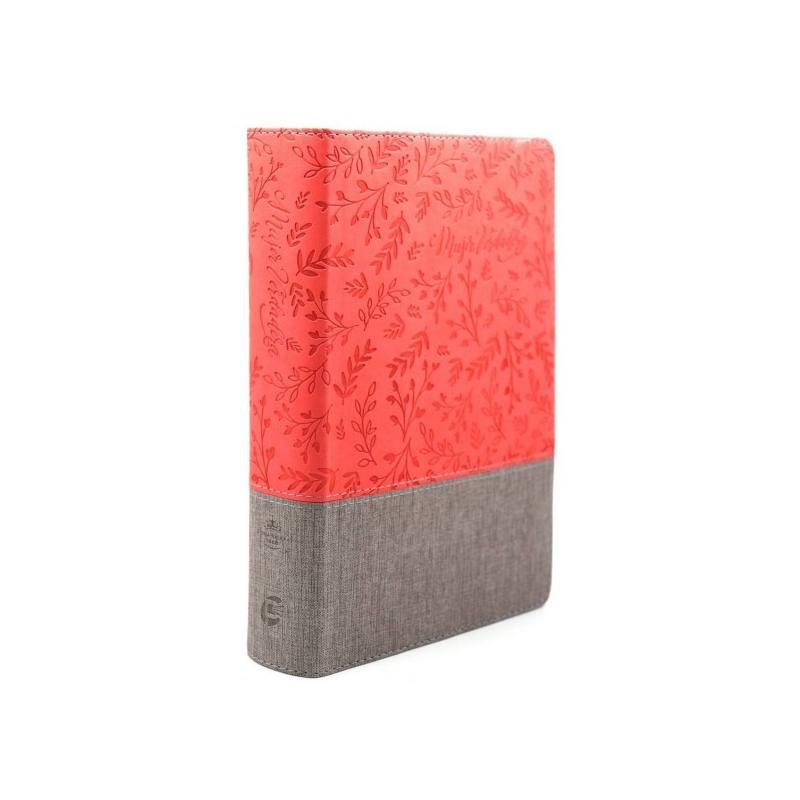 Biblia Mujer Verdadera, RVR 1960 - Duotono Coral