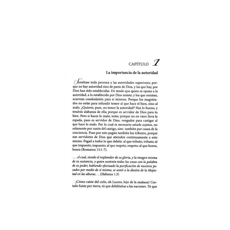 Autoridad Espiritual (Ed. Bolsillo)