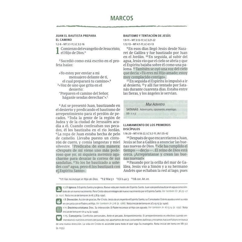Biblia del Pescador NVI Letra Grande, Tapa Dura